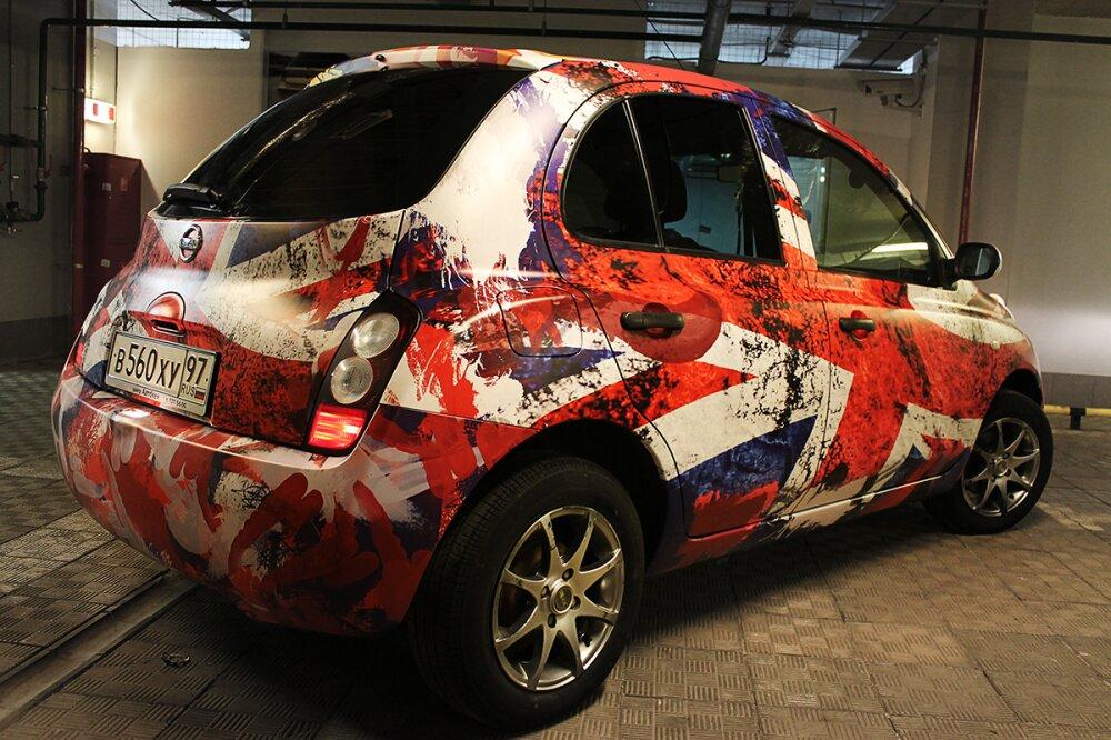 Заказать наклейки на авто в Киеве, оклейка автомобиля пленкой