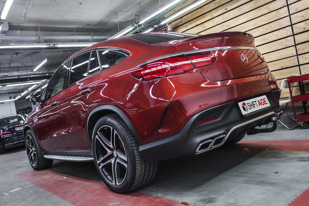 - Mercedes GLE Coupe Фото №5