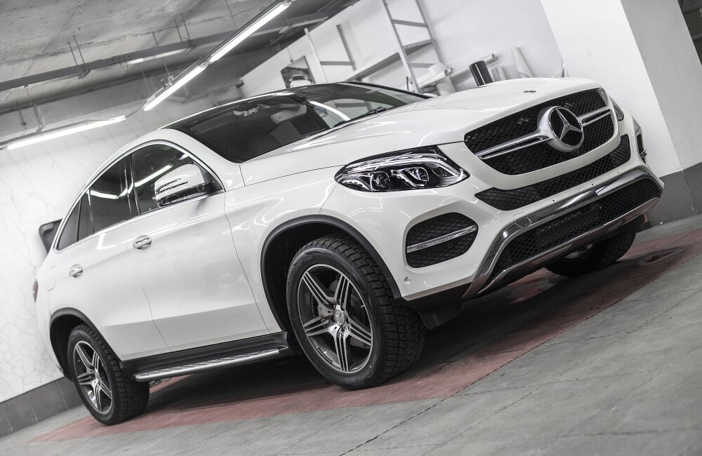 - Mercedes GLE Coupe Фото №7